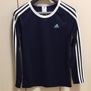 アディダス(adidas)の【新品未使用】adidas アディダス UVカット ロンT トレーニングウェア(Tシャツ(長袖/七分))
