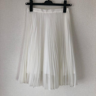 トランテアンソンドゥモード(31 Sons de mode)のトランテアン プリーツスカート(ひざ丈スカート)