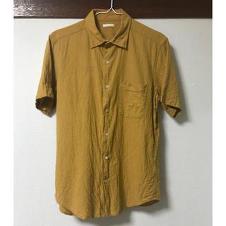 ジーユー(GU)のリネンシャツ (シャツ)