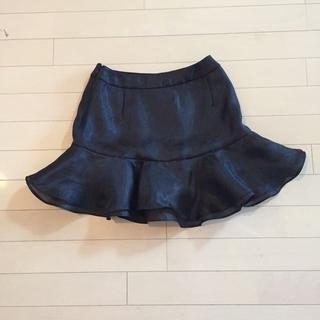 デイシー(deicy)のdeicy♡フリルスカート♡黒♡新品(ミニスカート)