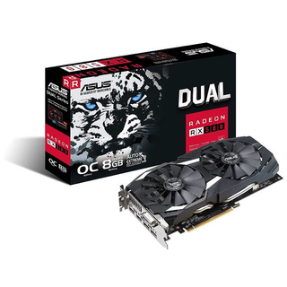エイスース(ASUS)のASUS Radeon RX580 8GB 新品1(PCパーツ)