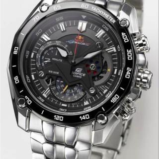 カシオ(CASIO)のCASIO Edifice EF-550RBSPレッドブル 海外限定 エアレース(腕時計(アナログ))