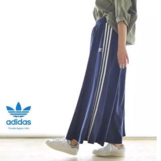 アディダス(adidas)のadidas♡M BEAUTY&YOUTH コラボ ロングスカート(ロングスカート)