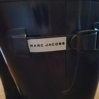 マークジェイコブス(MARC JACOBS)の★マークジェイコブス★レインブーツ★長靴★ネイビー★美品★(レインブーツ/長靴)