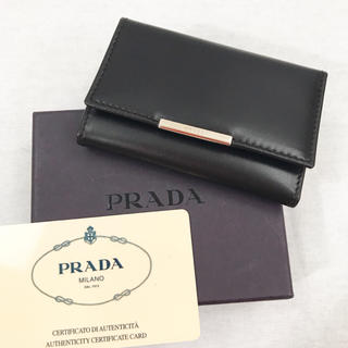 プラダ(PRADA)の《美品》【PRADA】プラダ/キーケース(キーケース)