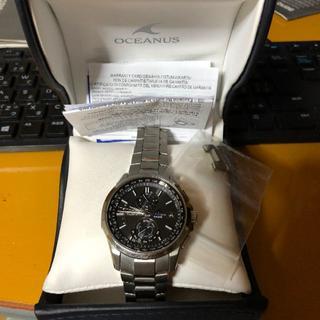 カシオ(CASIO)のCASIO カシオ OCEANUS オシアナスOCW-T2500(腕時計(アナログ))