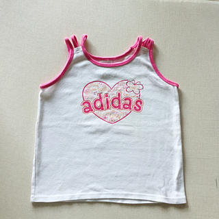 アディダス(adidas)のadidas タンクトップ カットソー Tシャツ(Tシャツ/カットソー)