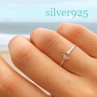 ALEXIA STAM - silver925 マーメイドリング CZダイヤ シルバー 指輪