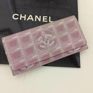 シャネル(CHANEL)のシャネル トラベルライン 長財布(財布)