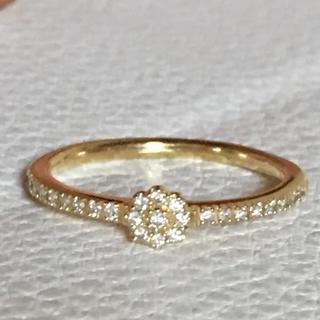 agete - k18 ベルシオラ ダイヤモンドリング アガット