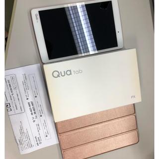 エルジーエレクトロニクス(LG Electronics)のQua tab PX LGT31SPA ピンク SIMロック解除済(タブレット)