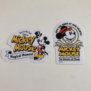 ディズニー(Disney)のミッキー  ステッカー(その他)