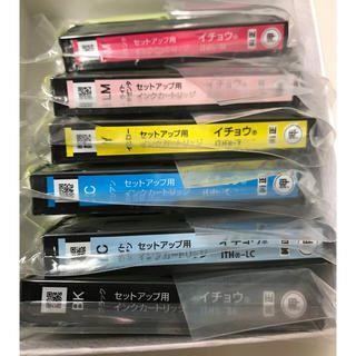 新品 EPSONエプソン純正 ITH-6CL イチョウ(6色セット)(オフィス用品一般)