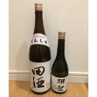 田酒 特別純米 1800ml 。 獺祭50   720ml(日本酒)