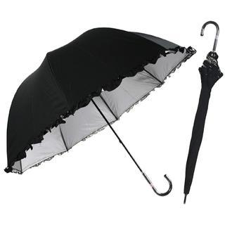 光を遮断! 晴雨兼用 日傘 かわいいドーム型 (傘)