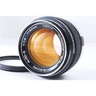 オリンパス(OLYMPUS)のM-System G.Zuiko Auto-S 50mm F1.4◆U861  (レンズ(単焦点))