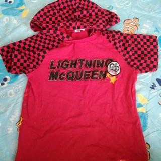 ディズニー(Disney)のカーズパーカーTシャツ(Tシャツ/カットソー)