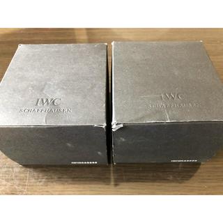 インターナショナルウォッチカンパニー(IWC)のIWC 時計ケース2個セット(外箱付き)(その他)