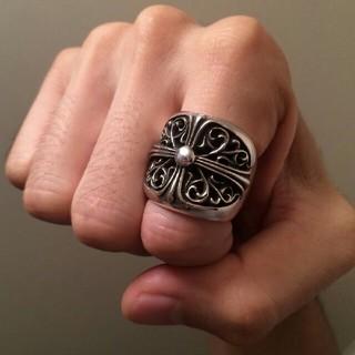 クロムハーツ(Chrome Hearts)のオーバルリング クロムハーツ(リング(指輪))