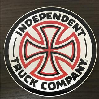 インディペンデント(INDEPENDENT)の【直径15.3cm】independent ステッカー 大(ステッカー)