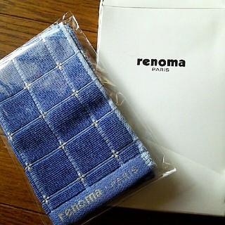 レノマ(RENOMA)のrenoma  ハンカチタオル(ハンカチ/ポケットチーフ)