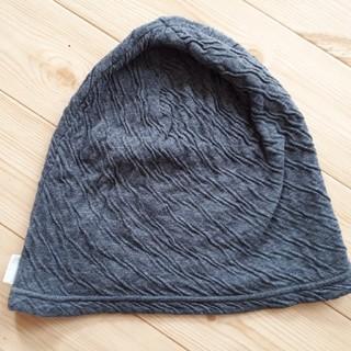 オーガニックコットン ケア帽子(ニット帽/ビーニー)