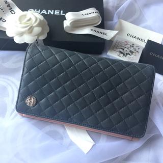 CHANEL - 🎀極美品!🎀マイクロマトラッセ🎀CHANEL🎀ココマーク🎀長財布🎀