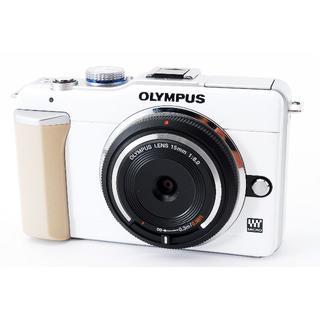 オリンパス(OLYMPUS)の❤️かわいいPEN❤️OLYMPUS E-PL1 レンズセット(ミラーレス一眼)