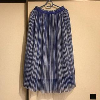 ネネット(Ne-net)のネネット ☆今季 ストライプリバーシブルスカート☆(ひざ丈スカート)