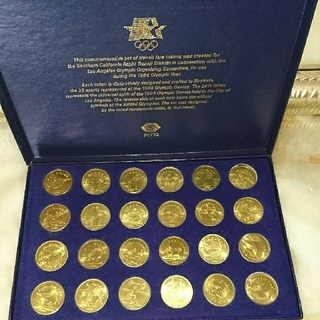1984☆ロサンゼルスオリンピック記念メダル(その他)