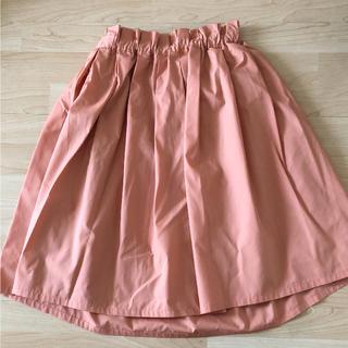ストロベリーフィールズ(STRAWBERRY-FIELDS)のユニバーバルミューズ スカート タグなし試着のみ(ひざ丈スカート)