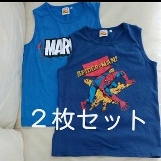 ジーユー(GU)のスパイダーマン タンクトップ(Tシャツ/カットソー)