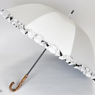 サンバリア 100 ミドルフリルホワイト(傘)