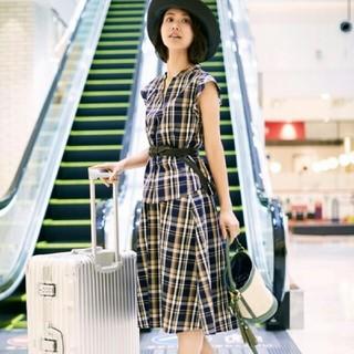 ジーユー(GU)の美品✨GUチェックスカート❤(ひざ丈スカート)