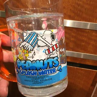 スヌーピー(SNOOPY)のユニバーサルスタジオ USJ スヌーピー キラキラマグカップ(キャラクターグッズ)