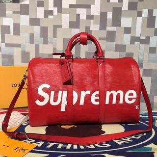 シュプリーム(Supreme)のシュプリーム SUPREME &LVボストンバッグ ショルダーバッグ ハンドバッ(ボストンバッグ)