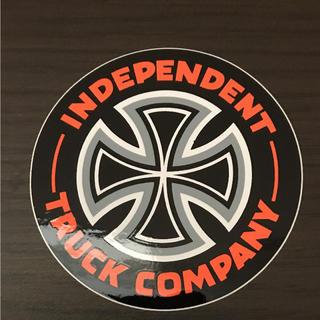 インディペンデント(INDEPENDENT)の【直径7.5cm】independent ステッカー(ステッカー)