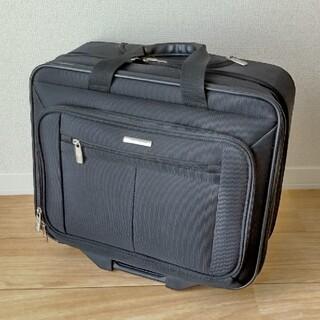 サムソナイト(Samsonite)のSamsonite サムソナイト キャリーケース 黒 ブラック ビジネスバッグ(トラベルバッグ/スーツケース)