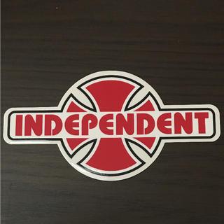 インディペンデント(INDEPENDENT)の【縦8cm横15.5cm】independent ステッカー(ステッカー)