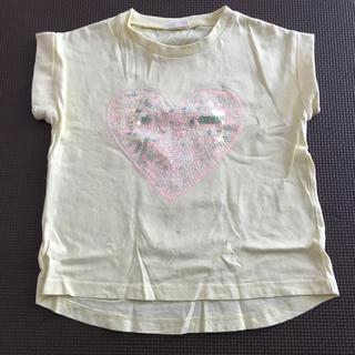 ジーユー(GU)のトップス(Tシャツ/カットソー)