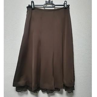 クードシャンス(COUP DE CHANCE)の🌸美品🌸 COUP DE CHANCEのシフォンスカート(ひざ丈スカート)