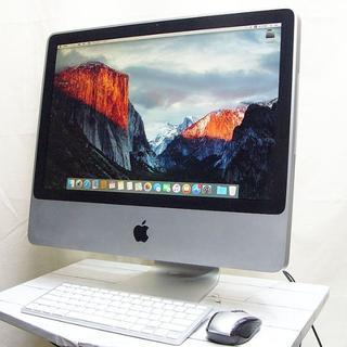マック(Mac (Apple))の★人気のiMac★iPhone8やXと同期もばっちり♪El Capitan(デスクトップ型PC)