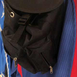 リュクサック(黒)サイズ45-35センチ(バッグパック/リュック)