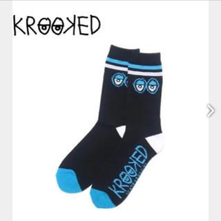 クルキッド(KROOKED)のKROOKED SKATEBOARDING「BIG EYES SOCK」(スケートボード)