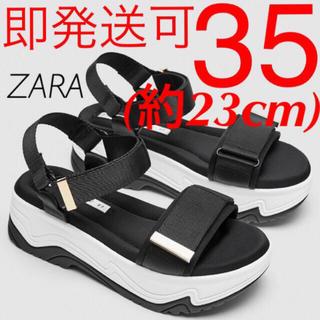 ZARA - ZARA ウェッジソール スニーカー