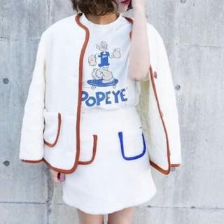 トゥデイフル(TODAYFUL)の大人気♡ポパイ Tシャツ(Tシャツ(半袖/袖なし))
