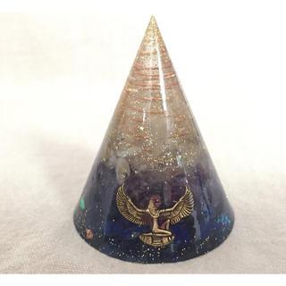 エジプト✴︎イシス女神の円錐 オルゴナイト(その他)
