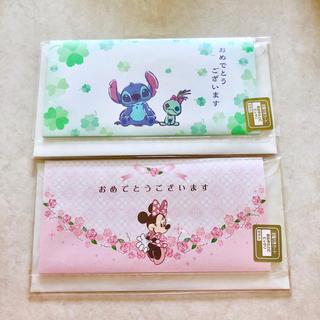 ディズニー(Disney)のディズニー 封筒付きガード(カード/レター/ラッピング)