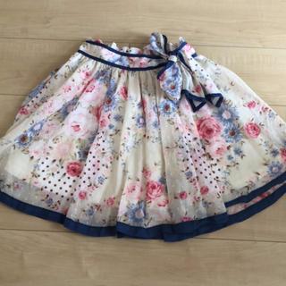 リズリサ(LIZ LISA)の ハイウエスト スカート(ミニスカート)