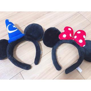 ディズニー(Disney)のディズニー ミッキー&ミニー カチューシャ(カチューシャ)